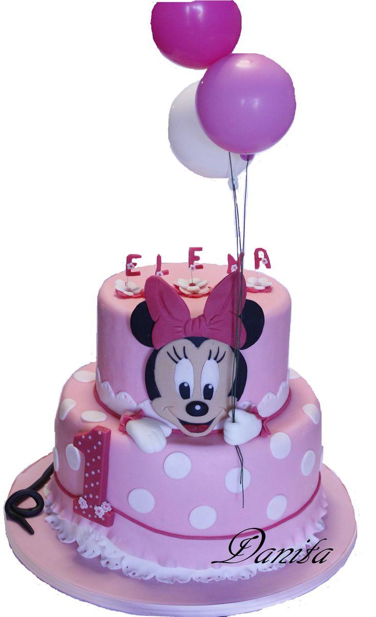 Torta Minnie baby e dolcetti in tema