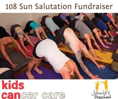Yoga Santosha Calgary .:. Event Details: 108 Sun Salutation Fundraiser