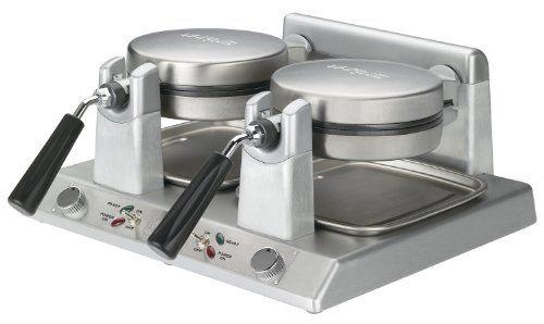 Waring Commercial WW250 Heavy-Duty Double Side-by-Side Belgian Waffle Maker, 120-volt - http://sleepychef.com/waring-commercial-ww250-heavy-duty-double-side-by-side-belgian-waffle-maker-120-volt/