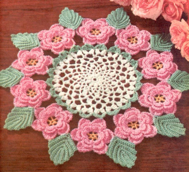 Irish Crochet Patterns Free | Irish Rose Crochet Pattern | Crochet Guild
