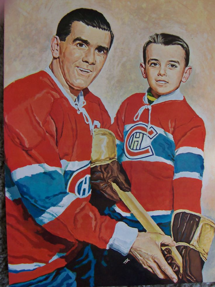Maurice Richard | Montreal Canadiens | NHL | Hockey