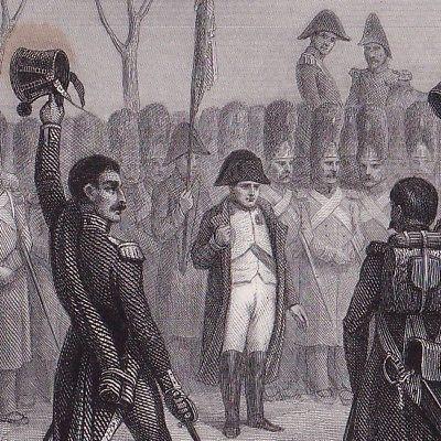 Empereur-Napoleon-Bonaparte-Les-Cent-Jours-Grenoble-1815-Isere-Lac-de-Laffrey