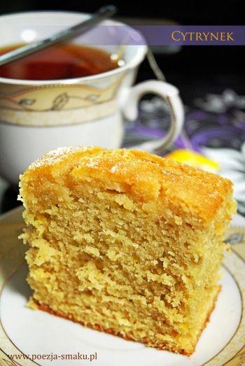 Cytrynek - ciasto do herbaty / Simple lemon cake (recipe in Polish)