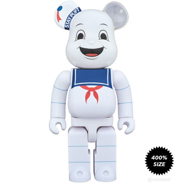 Stay Puft Marshmallow Man Ghostbusters 400% Bearbrick - Pre-order