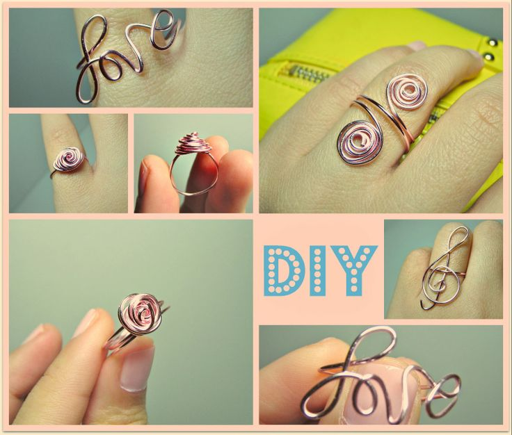 DIY wire ringsWire Jewelry, Diy Ideas, Wire Rings, Diy Jewelry, Jewelry Ideas, Diy Rings, Jewelry Rings, Diy Projects, Diy Wire