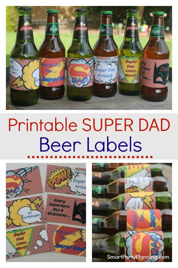 picture relating to Printable Beer Labels called The Utmost Remarkable Tremendous Father Printable Beer Labels Fathers