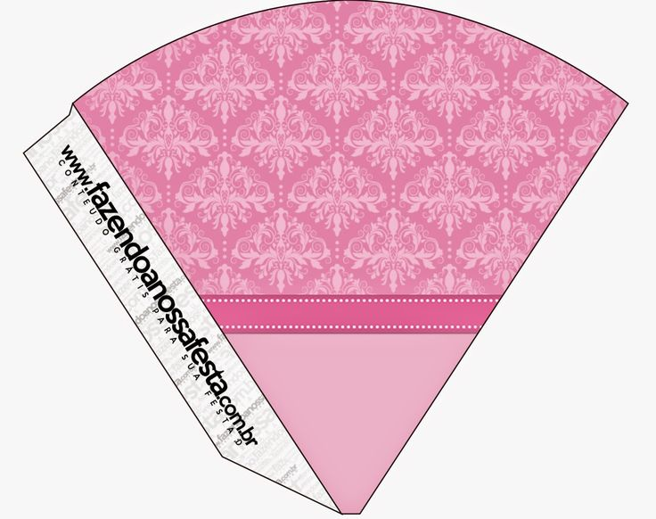 Damascos Rosa: Imprimibles Gratis para Fiestas.