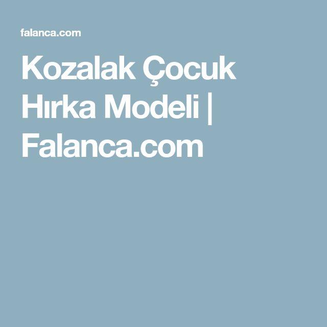 Kozalak Çocuk Hırka Modeli | Falanca.com