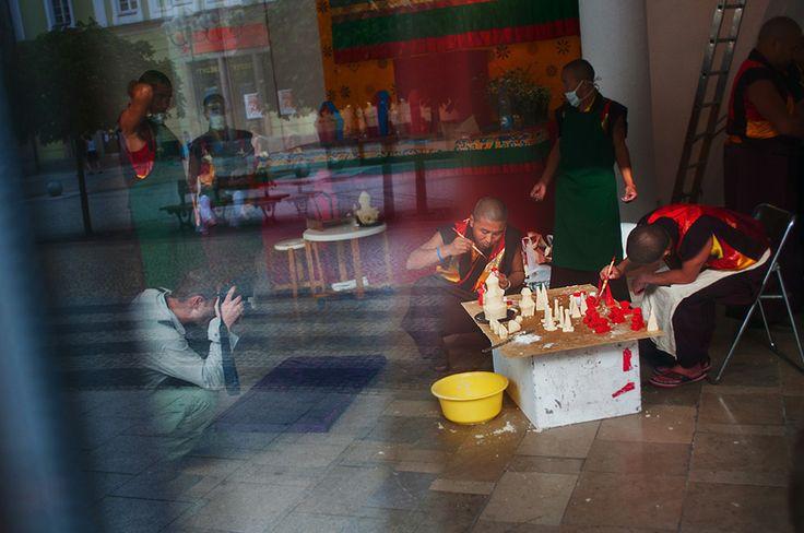 #tibet #monks #wroclaw mnisi tybetańscy we Wrocławiu