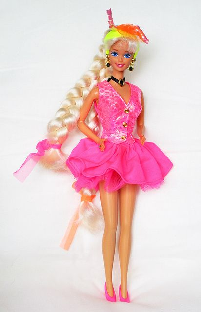 Cut And Style : Cut n Style Barbie 1994 . Mi primera Barbi... wow.... 90s Barbie ...
