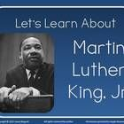 Check out this PowerPoint lesson for MLK Day.  Good for Grades 1st 2nd 3rd