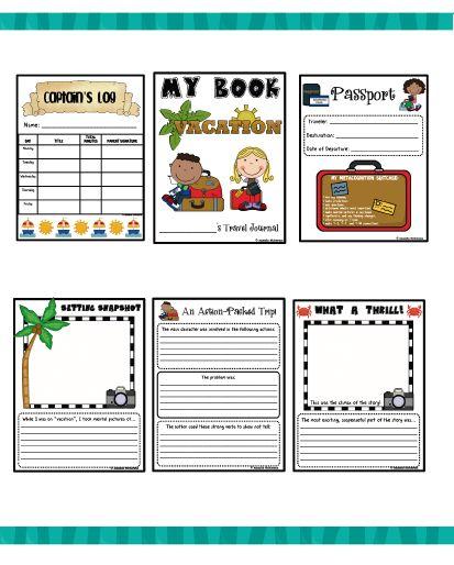 travel journal for kids pdf