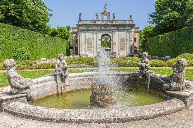 labirinto valsanzibio   Una delle 16 fontane nel Giardino di Valsanzibio (photo credits www ...