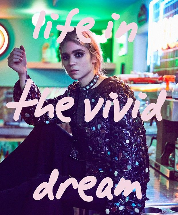 Grimes for Nylon Singapore Photo: An Le (www.anlestudio.com) Style: Turner Hair: Derek-Peter Williams Make-up: Kelsey Deenihan Production & Casting: PAVON NYC