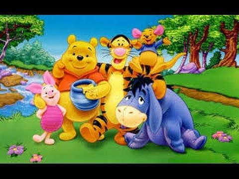 Winnie The Pooh and Friends Coloring Pages for Kids