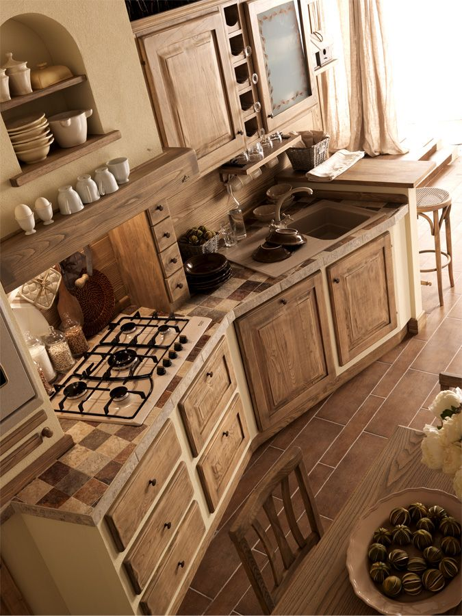 17 best Zappalorto - Cucine Country images on Pinterest | Kitchens ...