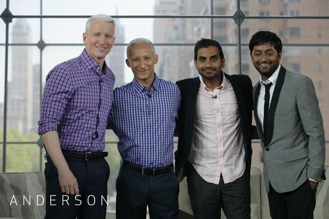 Aziz Ansari Look-Alike Pranks Anderson Cooper