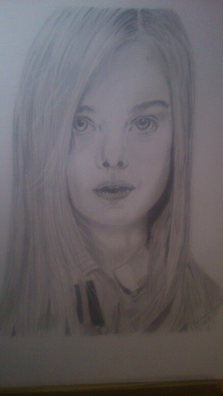 Retrato a lápiz. Autor yo