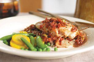 Mediterranean Chicken- fast and easy