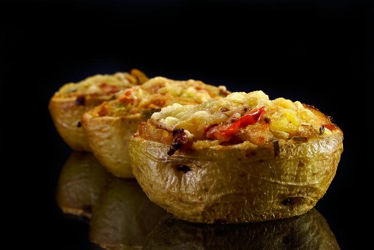 Patatas rellenas: Γευστική Πανδαισίαμμμ, Patata Rellena, Con Patata, Patatas Rellenas, Rica Patata