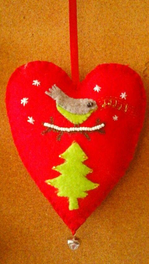 Karácsonyi ajándék Ibi zongoratanárának, Ildikó néninek.