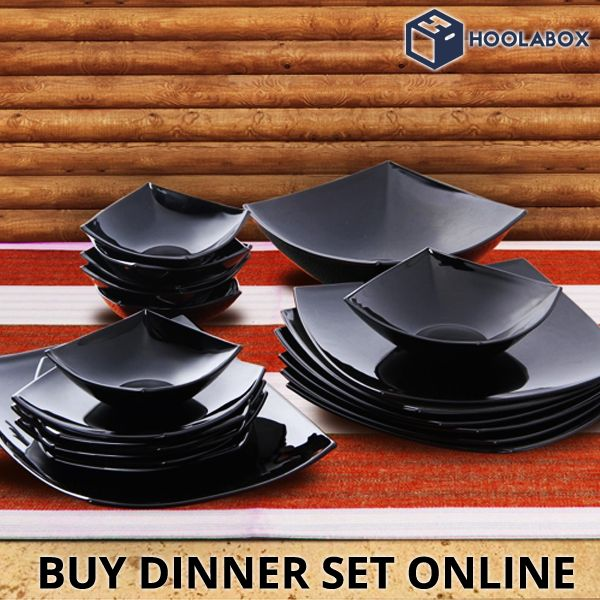 Buy Dinner Sets Online - microwave safe dinner sets, stainless steel dinner sets, melamine dinner sets at Hoolabox, India's Best Online Home & Kitchen Store.  Select from the wide range of branded Home & Kitchen Products online.   Please Visit:- http://hoolabox.com/218-dinner-set
