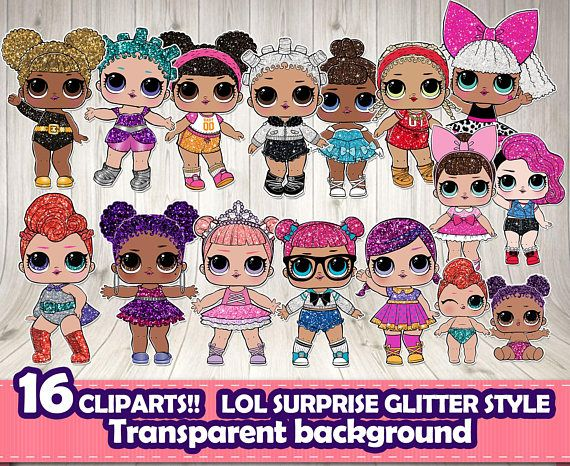 Lol Surprise Wallpaper Glitter Dolls