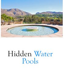 Hidden Water Pools Cost, these are so cool! :D