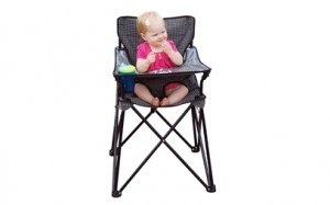 Ciao Baby: a super-portable high chair. I think I need for music in the park next Summer!!