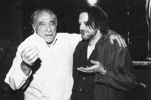 Barfly is one of my top 5 Fav movies, ever, and its about Charles Bukowski