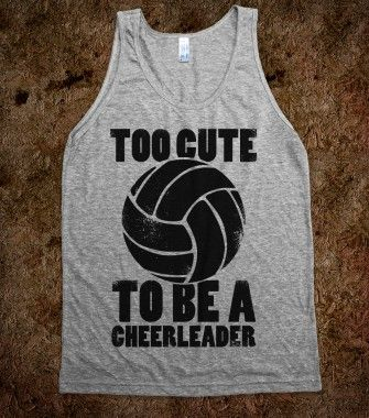 Too Cute To Be a Cheerleader - Sports Girl - Skreened T-shirts, Organic Shirts, Hoodies, Kids Tees, Baby One-Pieces and Tote Bags