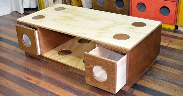 Mesa de Centro / piezas que componen este Muebloc: 1 Cubierta mod 420, 2 Cajón mod 121, 1 Cubierta mod 220, 1 Zócalo mod 420 - Medidas: 1,0*0,50*0,32 mt