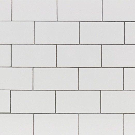 Subway Tile Seavish White Kitchen