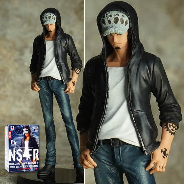 Japan Anime One Piece Trafalgar Law Jeans Freak Vol.4 Figure Figurine 16cm Box d'autres figurines de One Piece : http://amzn.to/2kgkgLT