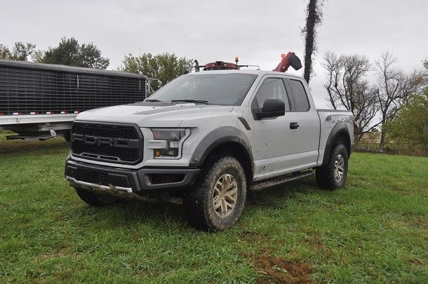 2017 Ford F-150 Raptor Review – There's Something About a Pickup, Man  ||  If you're okay with being noticed, especially at the fuel pumps, the Ford F-150 Raptor soon begins making sense. Even in the city. http://www.thetruthaboutcars.com/2017/10/2017-ford-raptor-review-theres-something-pickup-man/?utm_campaign=crowdfire&utm_content=crowdfire&utm_medium=social&utm_source=pinterest