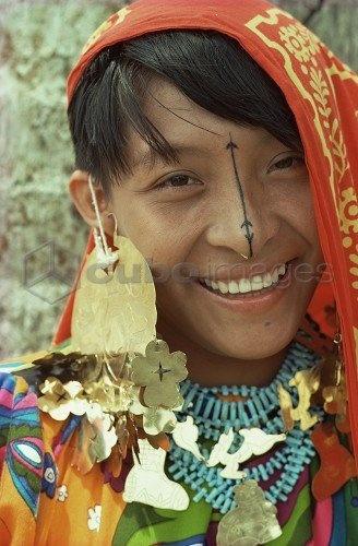 Central America: Cuna Indian, Panama