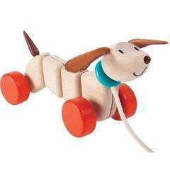 Plan Toys Australia -  Plan Toys Happy Puppy - Growing Footprints