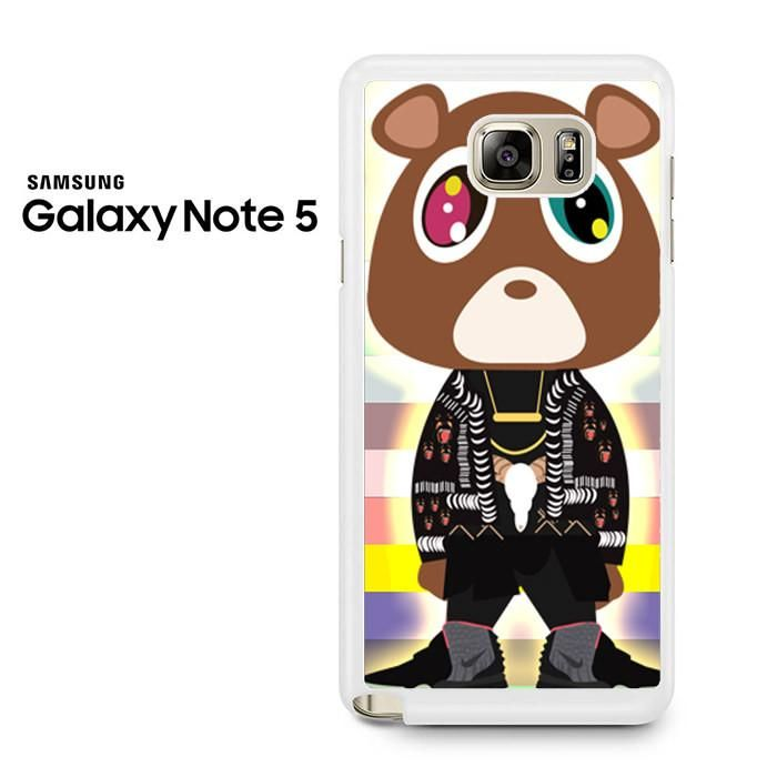 Kanye Dropout Bear Samsung Galaxy Note 5 Case