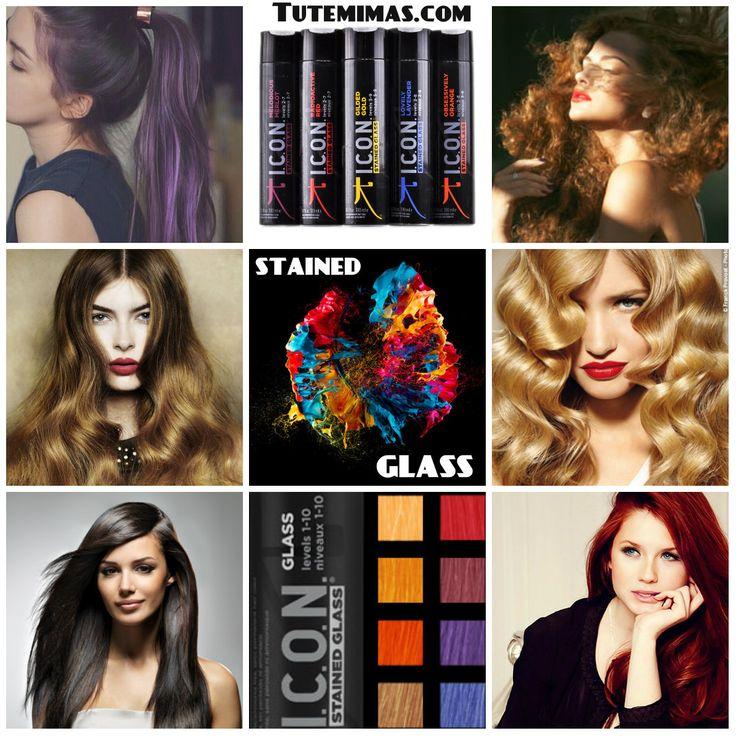 Realza el #color de tu #cabello, ya sea natural o teñido, con #StainedGlass. Una #coloración semi-permanente de #pigmentos vegetales puros, que no contiene alcohol, amoníaco, peróxidos, ni parabenes y que mejora la calidad de tu cabello. Consigue un color prismático no agresivo con el que incluso puedes mezclar hasta dos colores para obtener un tono personalizado. Stained Glass #sella el color permanente de tu cabello, mantiene el brillo y deposita pigmentos puros