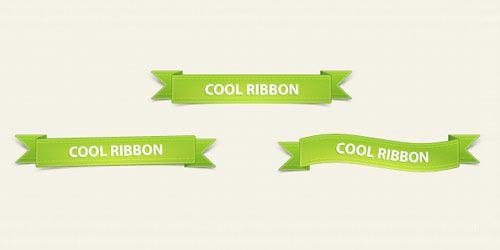 PSD Free ribbons