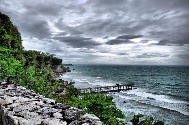View from Ayana Resort, Jimbaran, Bali. Taken using Nikon D90.