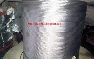 Jual Sling Stainless, Kawat Seling Tahan Karat wire rope kawat seling