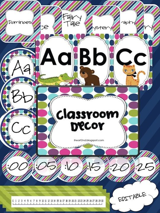 Editable Classroom Decor ~ Best images about kindergarten on pinterest notebook