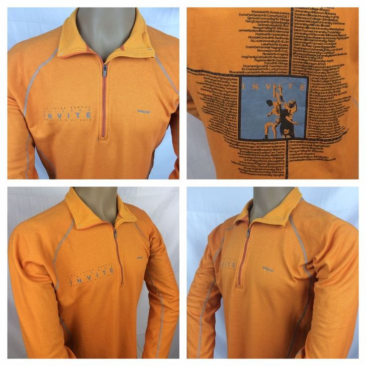 Patagonia Men's Half Zipper Sweater Gold SZ Large Outdoors Sports Athletic Wear  #Patagonia #ShirtsTops