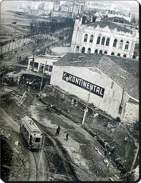 Cihangir – 1940'lar