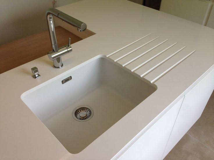 plan de travail cuisine composite lavabo cuisine resine cuisine sur mesure choisir son evier. Black Bedroom Furniture Sets. Home Design Ideas