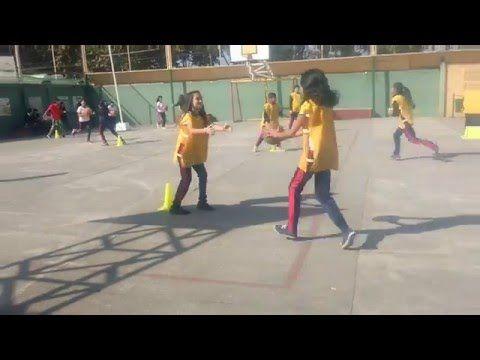Juegos Educación Física - Zig - Zag - Gol - YouTube