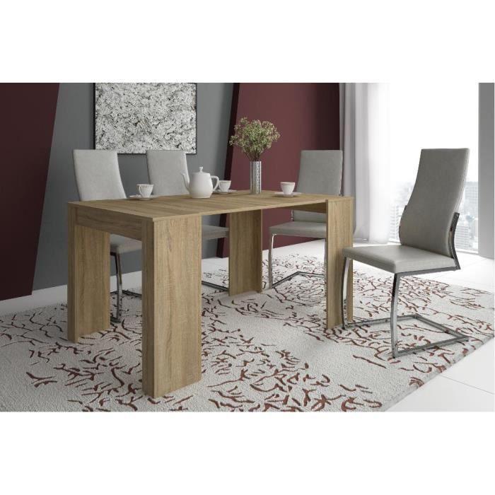 Table Console De Salle A Manger Extensible Jusqu A 140 Cm Finition Chene Dimensions Ferme 90x50x78 Cm Table Console Extensible Console Extensible Decoration Maison