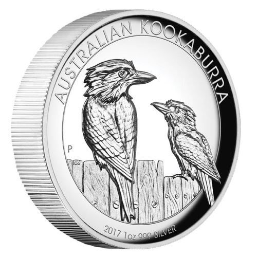 Australian Kookaburra 2017 1oz Silver Proof High Relief Coin | The Perth Mint