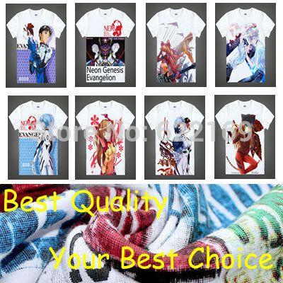 Японский EVA Neon Genesis Evangelion аниме спортивные футболки аниме Rei Ayanami хлопчатобумажную рубашку Косплей Костюмы аниме одежда